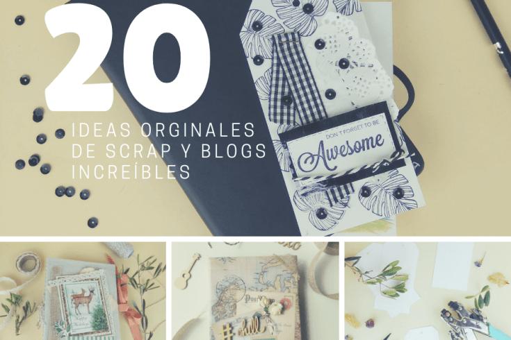 ideas de scrapbook y mejores blogs