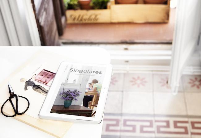 Singulares Magazine fotografíada por Mari Quiñonero