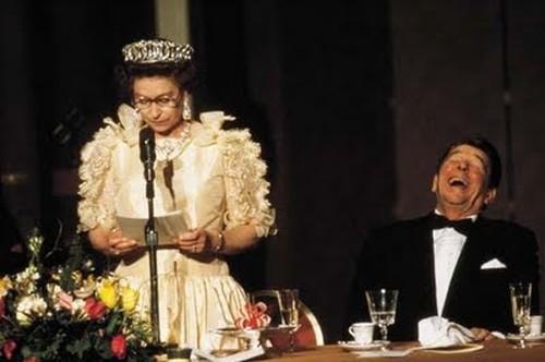 英國女皇與美國總統