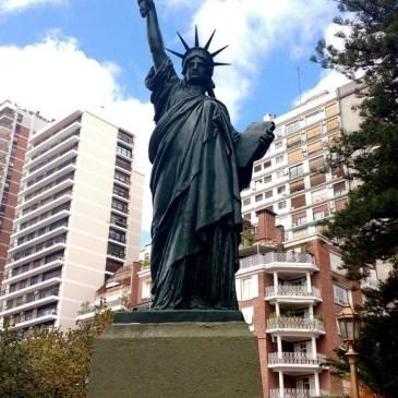 La Estatua de la Libertad … porteña!