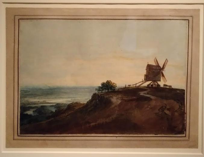 Exposición de acuarelas de Turner en el MNBA, Buenos Aires