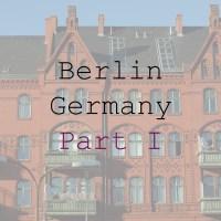 City Explorer: Berlin. Part I