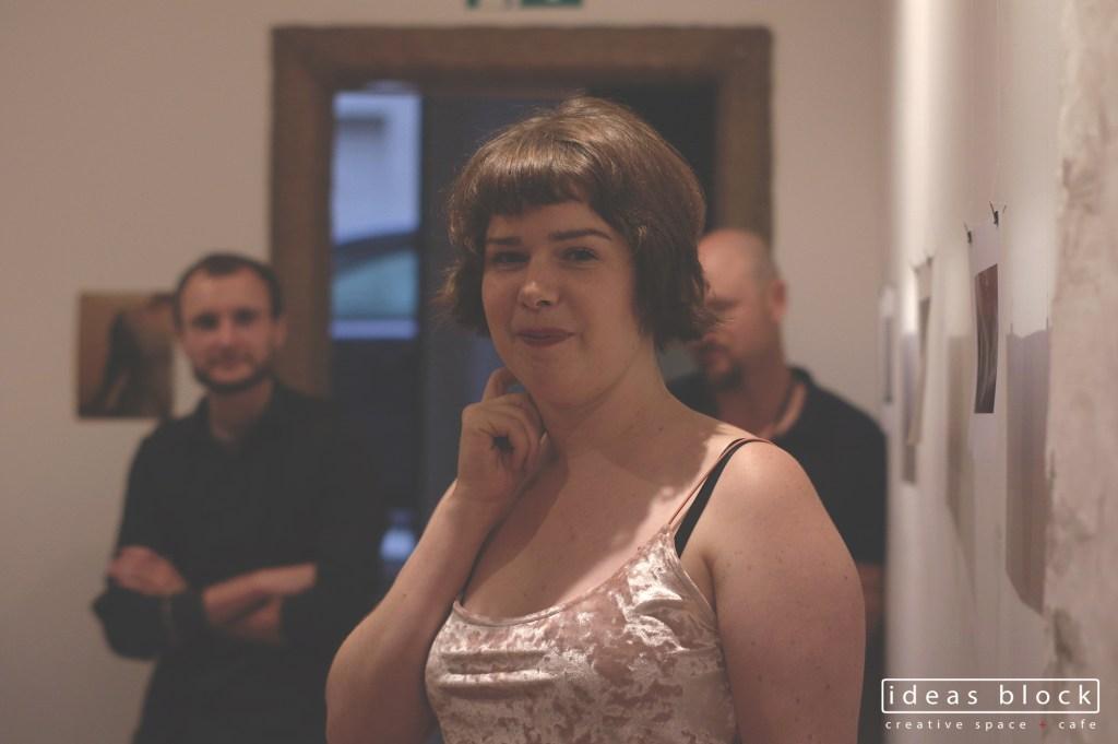 Emily Dundas Oke exhibition opening