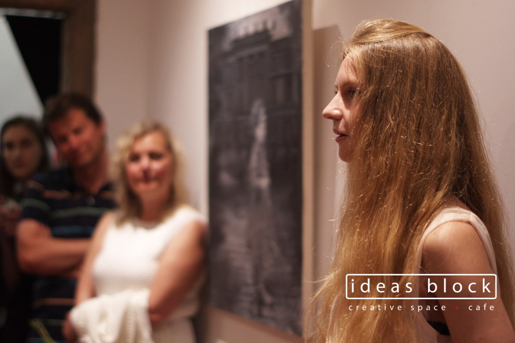 Ruta Matuleviciute exhibition opening