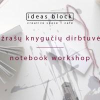 Notebook workshop with Liucija Textiles