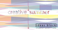 Creative Summer Project Presentation, 16th of May, 19.00