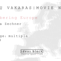 Movie Night: Remembering Europe. May 20th, 19.00