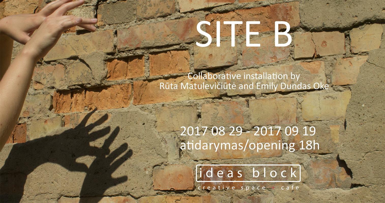 Site B exhibition opening at Ideas Block, Vilnius