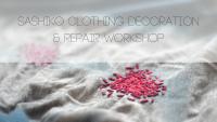 Sashiko clothing decoration & repair workshop, 18th of February, 17.00