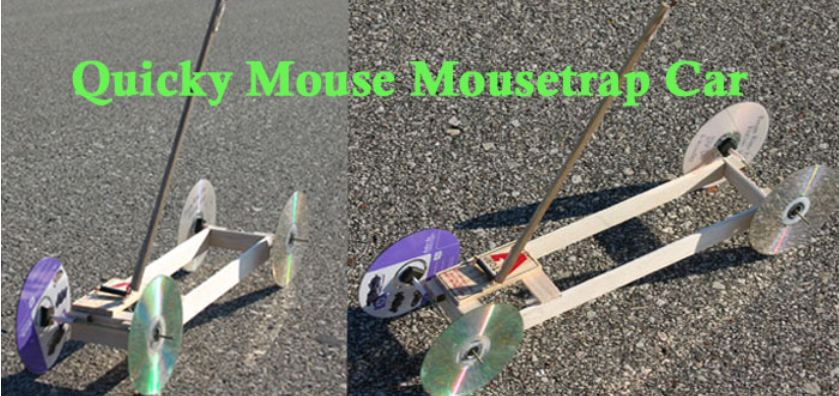 Mousetrap Car Construction Article And Plan Ideas Inspire
