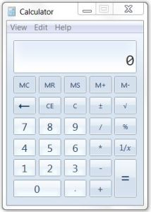 StandardViewCalculator