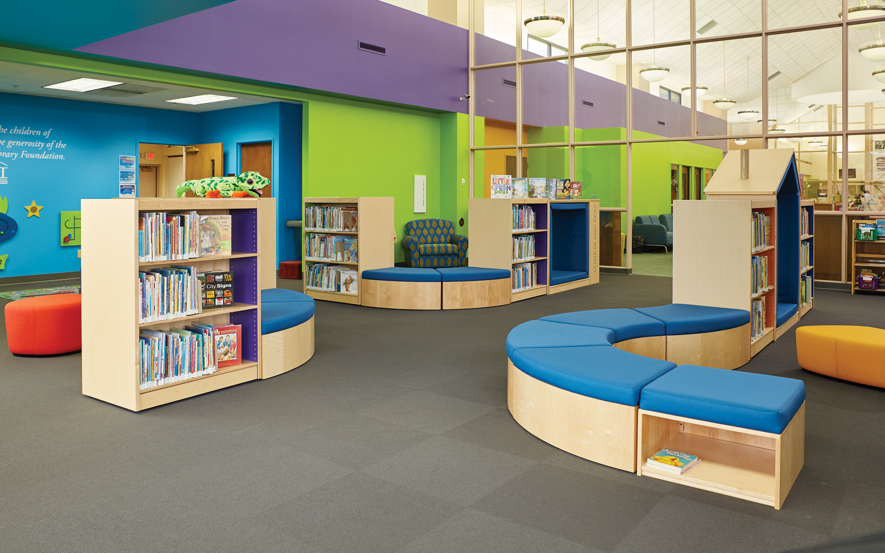 & Elementary Library Decorating Ideas