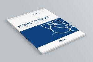 portada de catálogo de productos técnicos