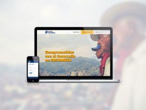 Web one page económica