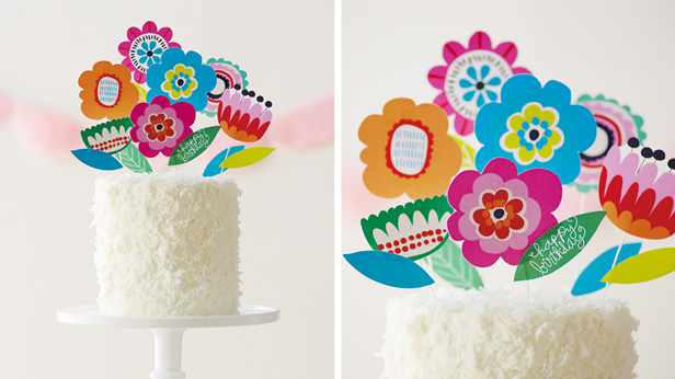 Diy Birthday Cupcake Toppers
