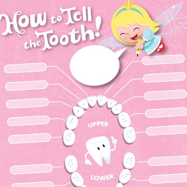 Tooth Fairy Printables Lost Tooth Chart Hallmark Ideas