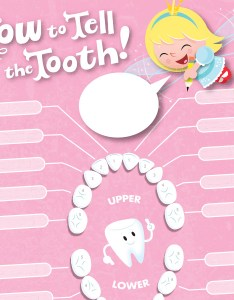 Tooth fairy printables lost chart also hallmark ideas  inspiration rh