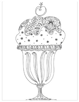 Free Printable Beach Coloring Pages For Adults : Coloring