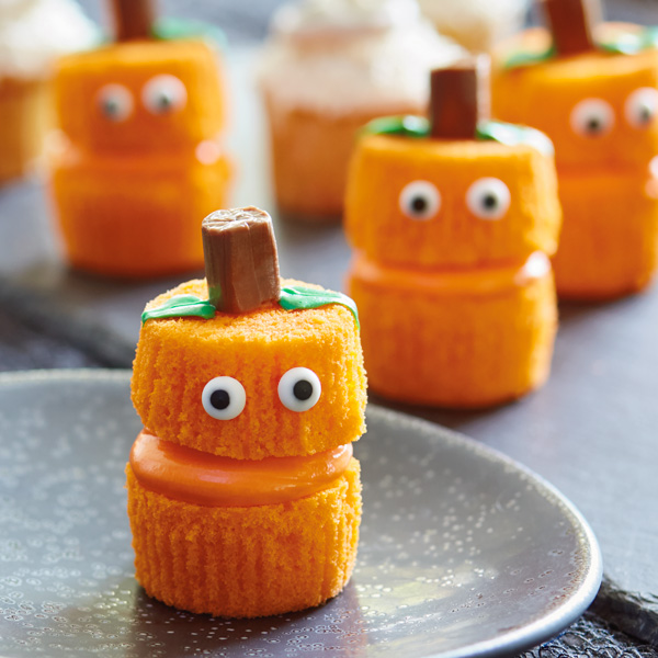 Jack O'Lantern Cupcakes Hallmark Ideas & Inspiration