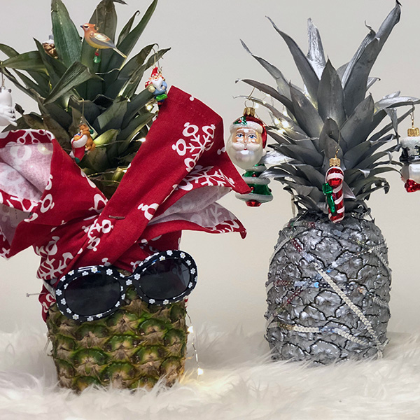 Pineapple Christmas Tree Hallmark Ideas & Inspiration