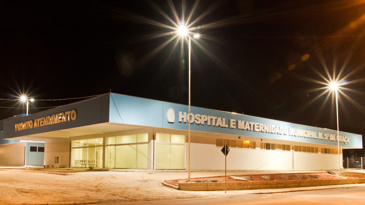 Hospital e Maternidade Municipal Nossa Sra da Graça em São Francisco do Sul, Santa Catarina