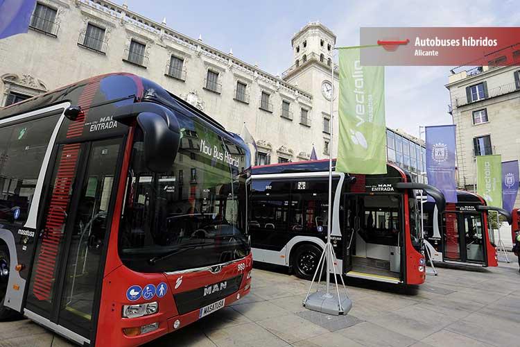 autorbuses híbridos
