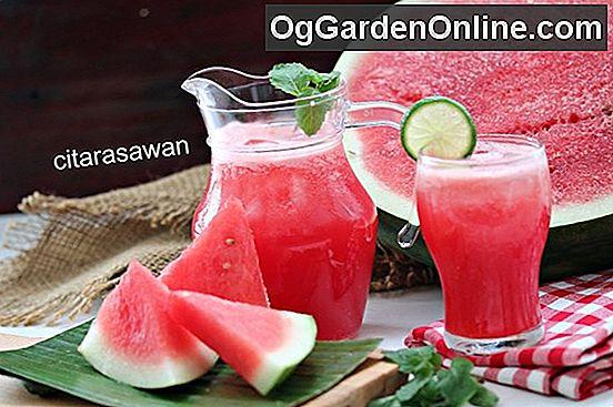 resipi jus buah buahan resepi bergambar Resepi Pisang Masak Hijau Enak dan Mudah