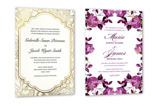 35 Wedding Invitation Wording Examples 2020 Shutterfly