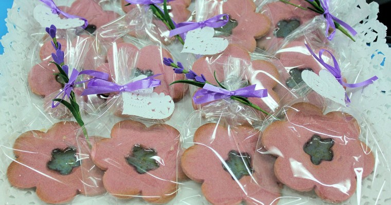 Galletas Navideñas con ventana o stained Christmas cookies