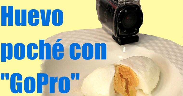 GoPro para cocinar huevos poché