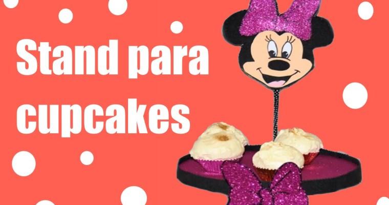 Stand de Minnie Mouse para cupcakes o tartas o..