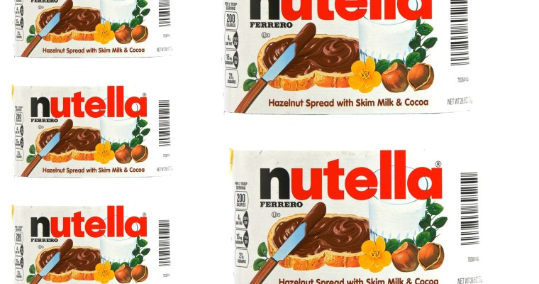 Imprimible para hacer bote de Nutella