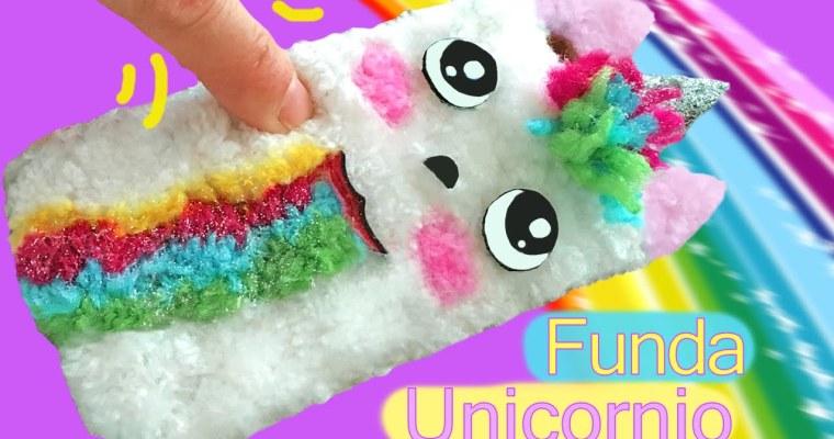 Funda para móvil de peluche del unicornio de Snapchat