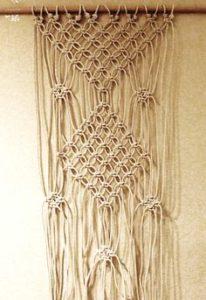 12 DIY Macram Curtains Patterns Macrame Door Curtain
