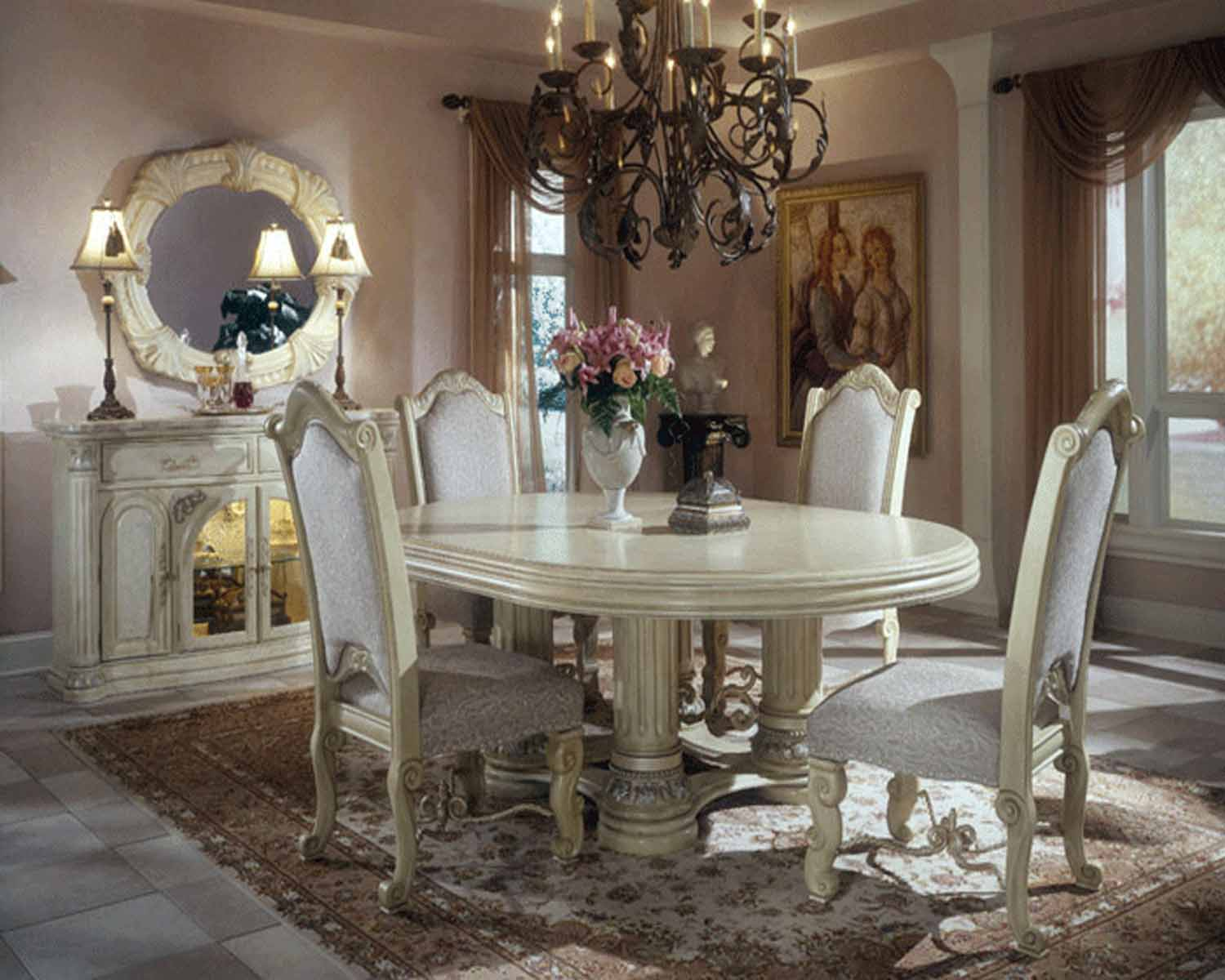 Awesome Traditional Dining Room Design Ideas