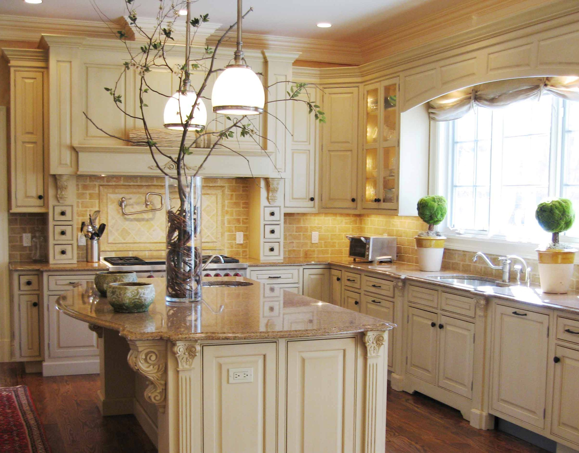 Can You Paint Countertops Formica Alluring Tuscan Kitchen Design Ideas With A Warm