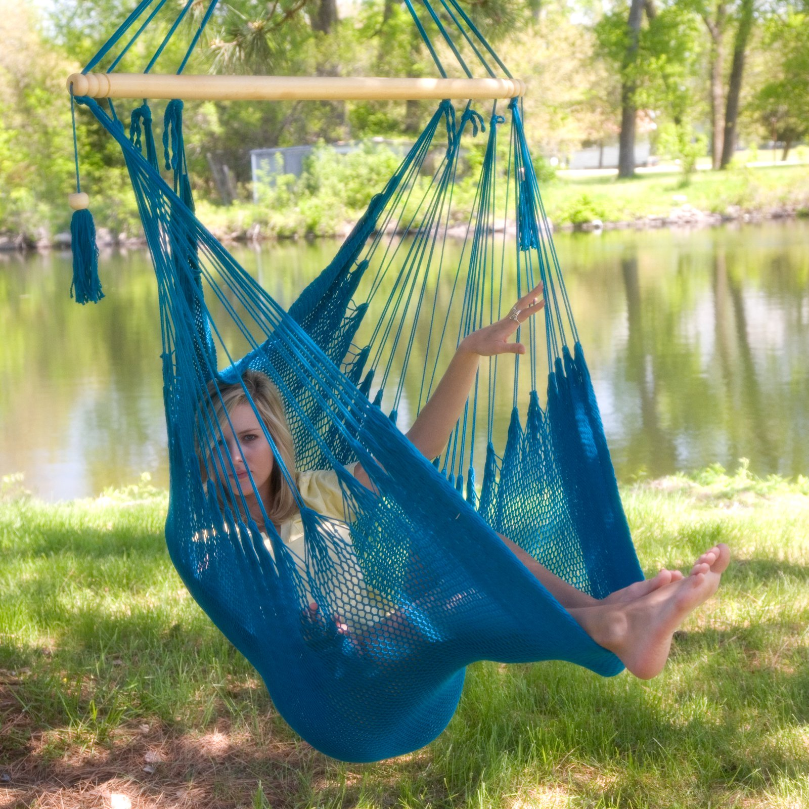 How To Make A Hammock Chair Choosing A Hammock Chair For Your Backyard Ideas 4 Homes