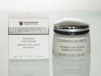 janssen intensive face scrub