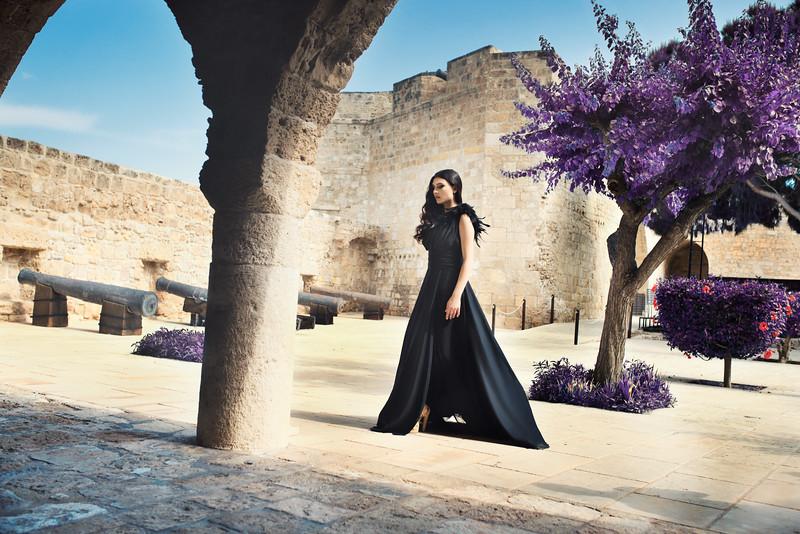 Model: Georgia EvagorouDresses : Panteli PantelisStyling : Andrea ChristophiOrganised by Andreas Ayre