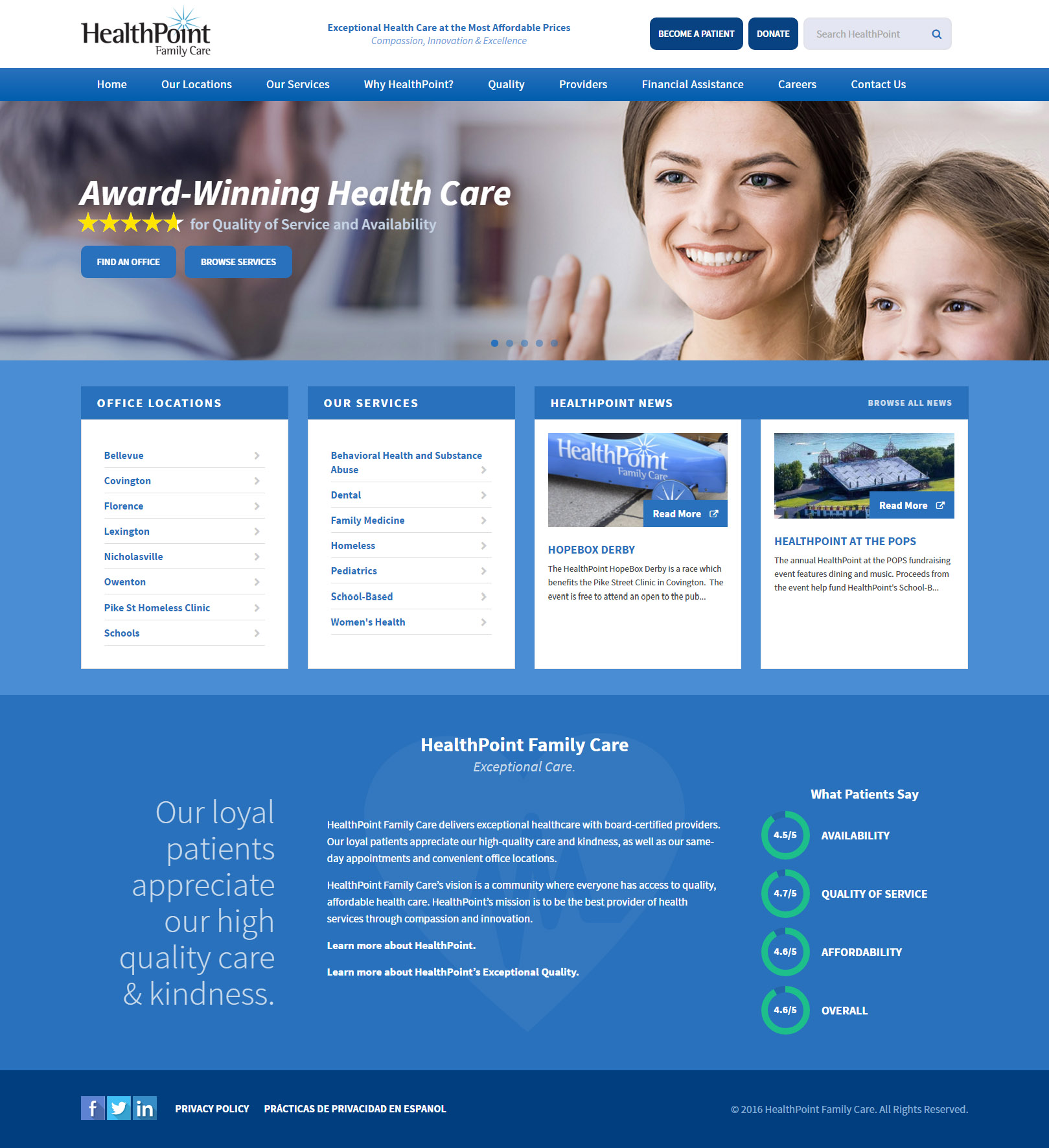 healthpoint family practice ideas