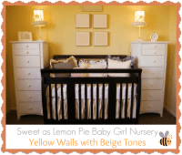 Baby Girl Nursery Ideas Yellow