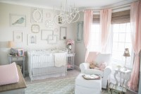 Beige Room with Pink and Mint Accents | Baby Room Ideas