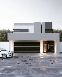 Fachadas de casas modernas 2020 2021 Ideas Bonitas Para