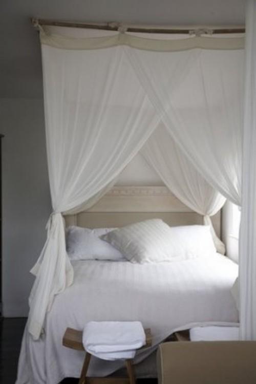 Camas con Dosel para la Decoracin del Dormitorio  Ideas Casas