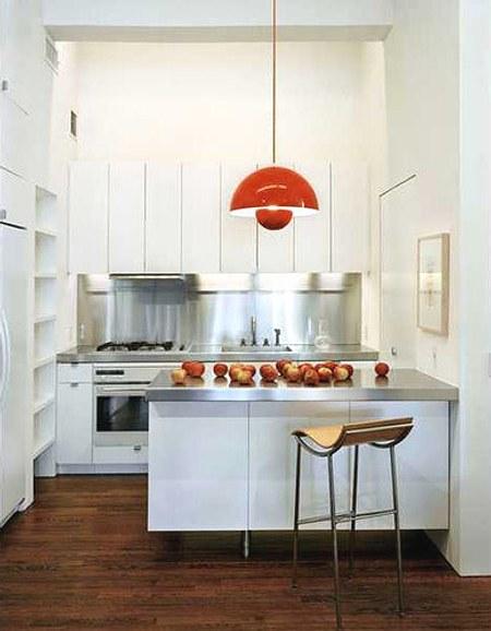 cmo decorar una cocina blanca con toques de color