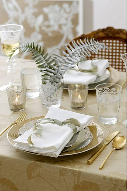 decoracin de navidad u ideas para la mesa del comedor