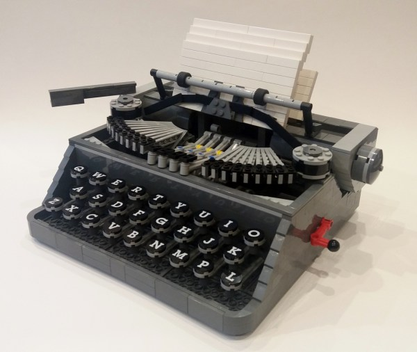 Lego Ideas - Product Typewriter