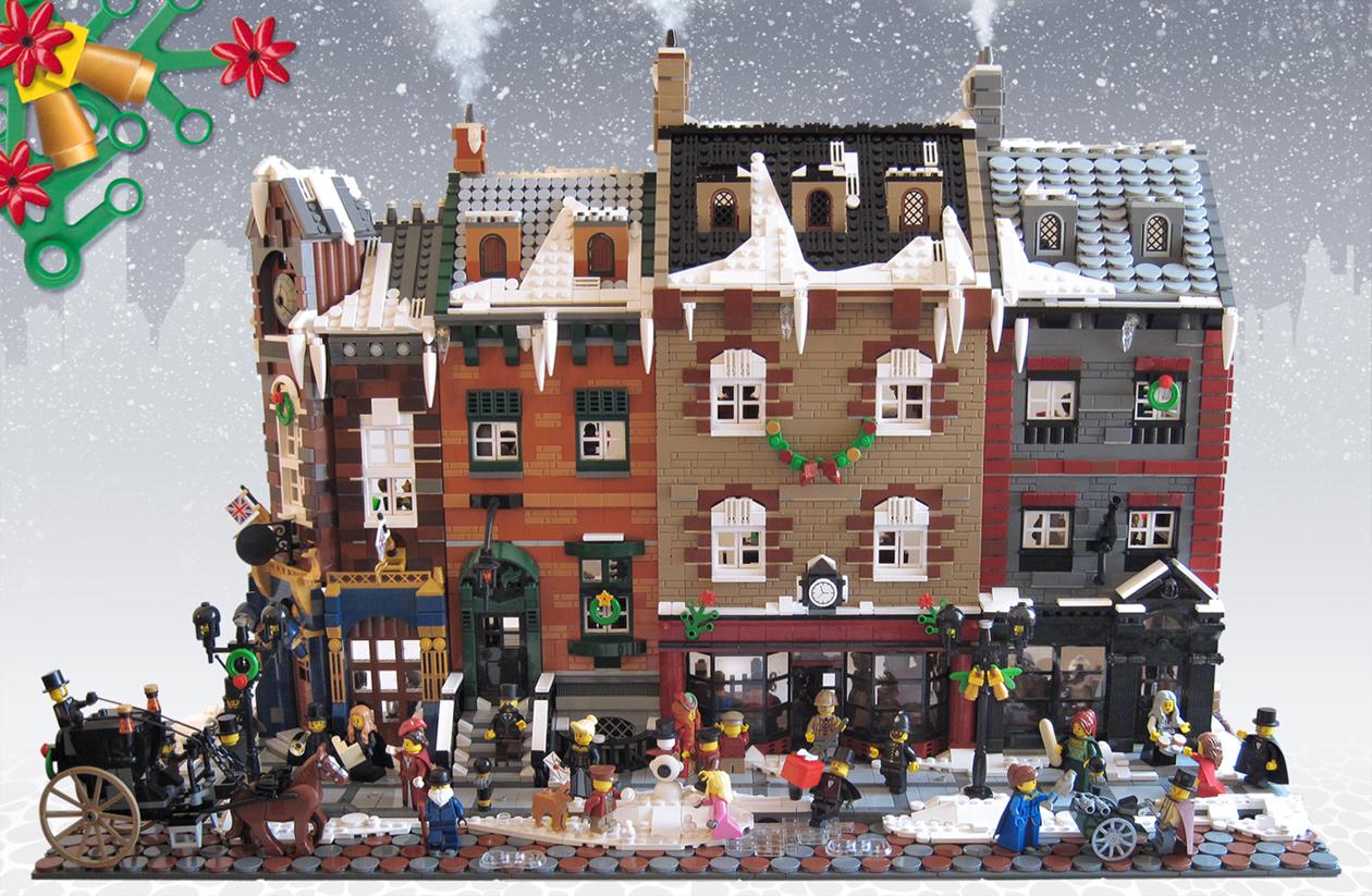 LEGO IDEAS Product Ideas Victorian London Christmas
