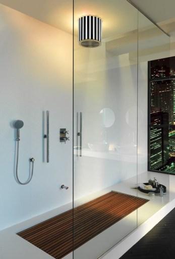 Modern-Bathroom-Shower-Design-Wood-Floor