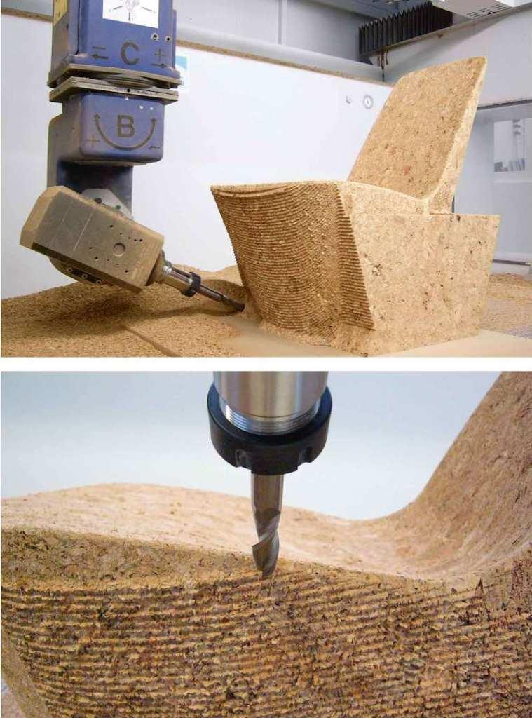 Producción silla